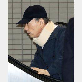 品川駅で5年ぶりに姿を見せた高山清司若頭(C)日刊ゲンダイ