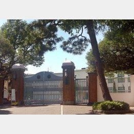 学習院初等科(C)日刊ゲンダイ