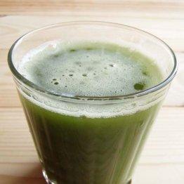季節で味に変化 「間引き菜」は青汁にして毎日1人1合飲む