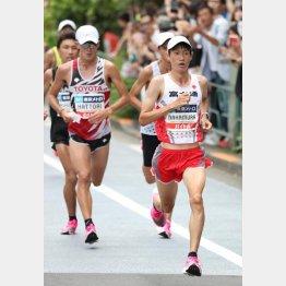 東京開催なら五輪とほぼ同じコースだったMGC(代表撮影)