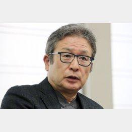 作家の江上剛さん(C)日刊ゲンダイ
