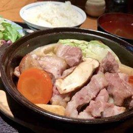 金舌(赤坂)豚肉に浮気 ビタミン豊富でバッチリ疲労回復