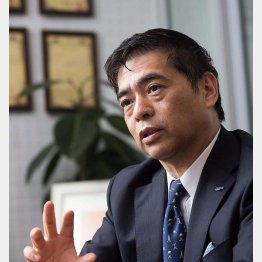 開発した「アクアバンク」の竹原タカシ社長(提供写真)