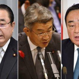 菅原更迭で辞任ドミノ始まる 初入閣組の醜聞また弾けるか