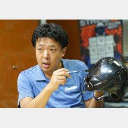 カシマヤ製作所の西上茂社長(C)日刊ゲンダイ