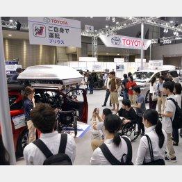東京ビッグサイトで開催された国際福祉機器展