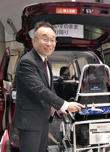 トヨタで福祉車両の開発を手がける中川茂さん