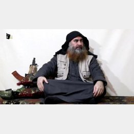 死亡した「イスラム国」(IS)最高指導者のバグダディ容疑者(C)ロイター/Al Furqan Media Network