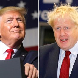 トランプ英総選挙に介入で「蜜月」のジョンソン首相困惑