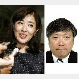 結婚を発表した女優の菊池桃子と経産省の新原浩朗氏(C)共同通信社