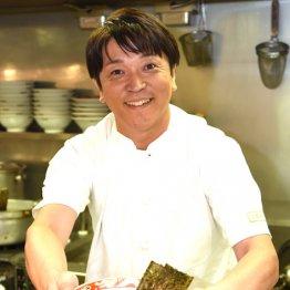 TVタックル主題歌で注目 東野純直さんはラーメン屋店主に