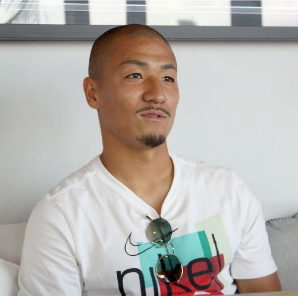 「攻撃面をプラスするために来た」と言い切る(写真)元川悦子