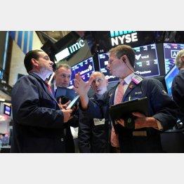 株高が続くニューヨーク証券取引所(C)ロイター