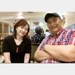 田口光久さんと妻の正子さん(C)日刊ゲンダイ