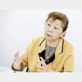 植野妙実子氏(C)日刊ゲンダイ