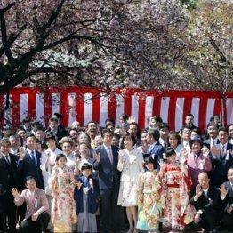 首相主催の桜を見る会 よく税金で盛大な宴会なぞできるよ