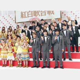 第70回NHK紅白歌合戦 初出場アーティスト発表会見 (C)日刊ゲンダイ