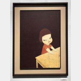 美術作家の奈良美智氏の作品は日本のオークションでも話題に(C)日刊ゲンダイ