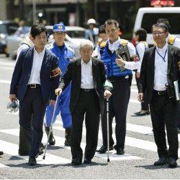 飯塚幸三被疑者(C)共同通信社
