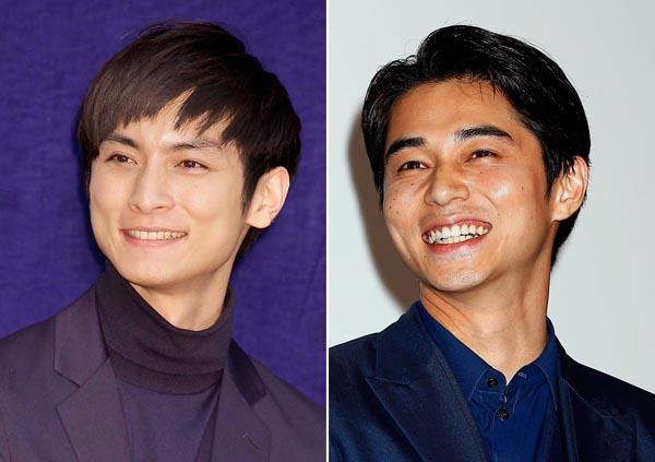 高良健吾(右)と東出昌大(C)日刊ゲンダイ
