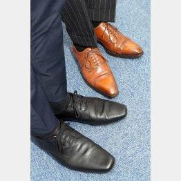 ビジネスは黒靴に限る(C)日刊ゲンダイ
