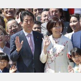 功績はゼロ(2019年安倍首相主催「桜を見る会」)/(C)日刊ゲンダイ