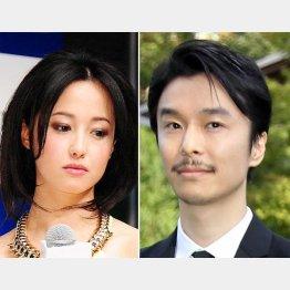 沢尻エリカと長谷川博己(C)日刊ゲンダイ