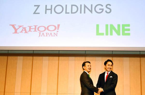 経営統合したヤフーとLINE 市場が気にする両社の「格差」