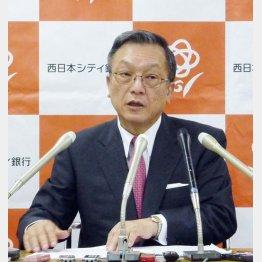西日本ホールディングスの谷川浩道社長(C)共同通信社