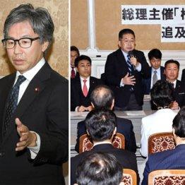 「桜を見る会」追及 立憲・安住氏の猛攻勢に官邸タジタジ