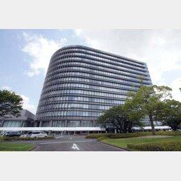 愛知県のトヨタ自動車本社(C)共同通信社