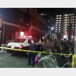 発砲事件があった兵庫県尼崎市の現場(C)日刊ゲンダイ