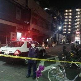 発砲事件があった兵庫県尼崎市の現場