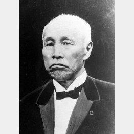 大隈重信は伊藤に参議を辞職するよう迫られた(C)共同通信社