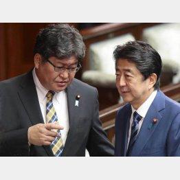 「私ほど総理に近い文科大臣は現れない」萩生田文科相(左)/(C)日刊ゲンダイ