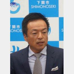 桜を見る会にも招かれた前田市長(C)日刊ゲンダイ