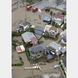台風19号などの影響も(C)共同通信社