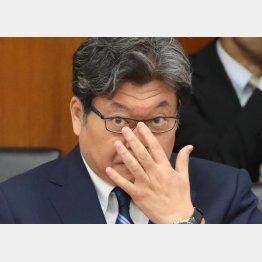 殺人事件を起こした会社から多額の献金を受け取っていた(萩生田文科相)/(C)日刊ゲンダイ