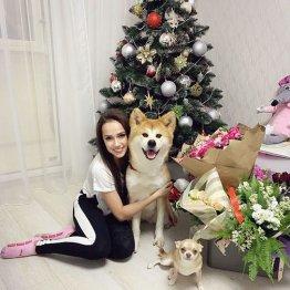 競技活動休止のザギトワ マサルと一緒にメリークリスマス