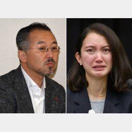 2年間沈黙してきた山口敬之氏(左)と伊藤詩織さん(C)日刊ゲンダイ