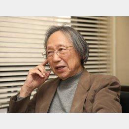 「元号は文化」と語る中西進氏(C)日刊ゲンダイ