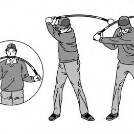 超軟らかシャフトが下半身から切り返す感覚を教えてくれる