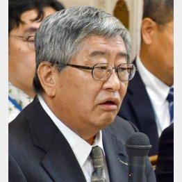 日本郵政の鈴木康雄上級副社長(C)日刊ゲンダイ