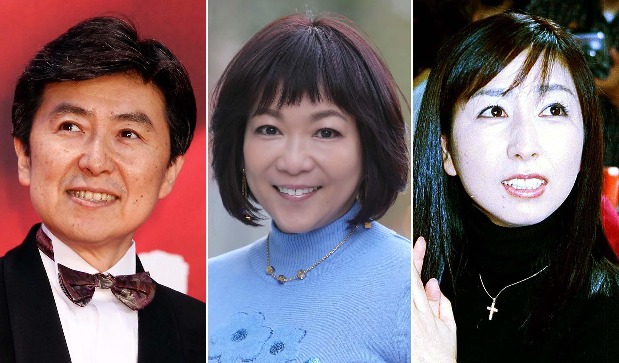 (左から)笠井信輔さん、堀ちえみさん、岡村孝子さん(C)日刊ゲンダイ