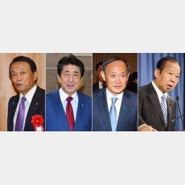 権力闘争激化(C)日刊ゲンダイ