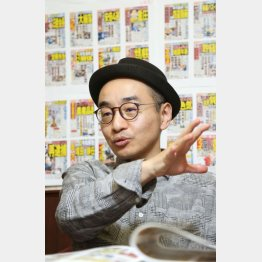 時事芸人のプチ鹿島(C)日刊ゲンダイ