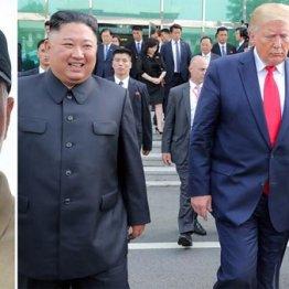 殺害されたイランのソレイマニ司令官(左)金正恩朝鮮労働党委員長はどう動くか(トランプ米大統領、文在寅韓国大統領と共に)/