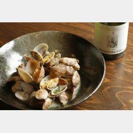 合う酒=シードル、白ワイン(C)日刊ゲンダイ