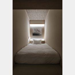 カプセルホテルとは思えない上質な空間(提供:hotel zen tokyo)