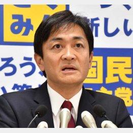 国民民主党の玉木雄一郎代表(C)日刊ゲンダイ
